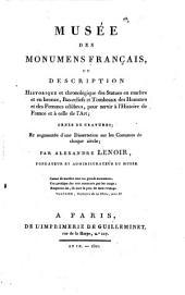Musee des Monumens Francais ou Description