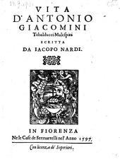 Vita d'Antonio Giacomini Tebalducci Malespini