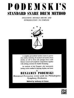 Podemski s Standard Snare Drum Method PDF