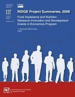 RIDGE Project Summaries 2008