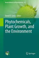 Phytochemicals  Plant Growth  and the Environment PDF
