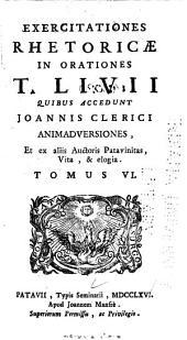 T. Livii Opera quæ supersunt: obscuriorum locorum interpretationibus & selectis adnotationibus illustrata : cum supplementis in postremos libros, Volume 6