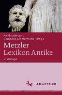 Metzler Lexikon Antike PDF