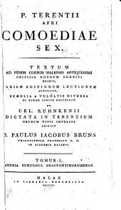 P. Terentii Afri Comoediae sex