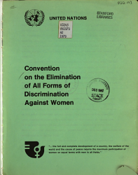 Convention on the Elimination of All Forms of Discrimination Against Women PDF