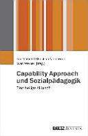 Capability Approach und Sozialp  dagogik PDF