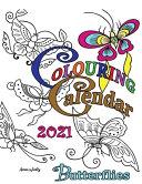 Colouring Calendar 2021 Butterflies