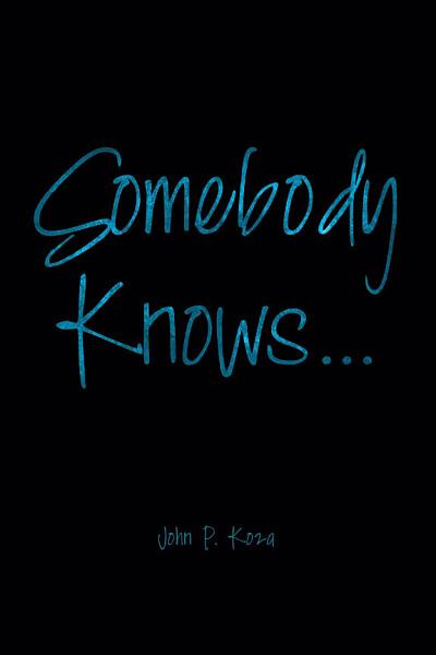 Download Somebody Knows    Book