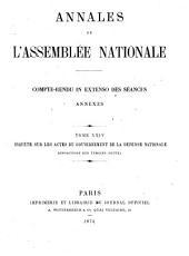 Annales de l'Assemblée Nationale: compte-rendu in extenso des seances ; annexes, Volume 24