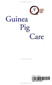 Guinea Pig Care PDF