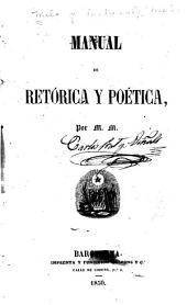 Manual de retórica y poetica