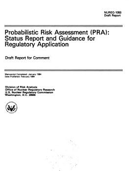 Probabilistic Risk Assessment  PRA  PDF