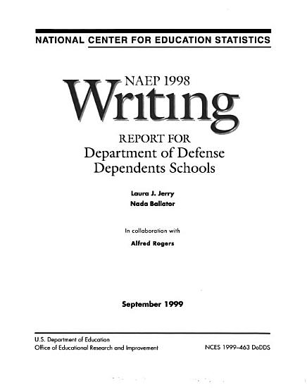 NAEP     Writing Report for Department of Defense Dependents Schools PDF