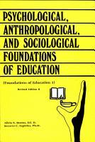 Foundation of Education I PDF