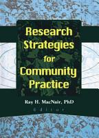 Research Strategies for Community Practice PDF