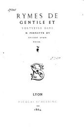 Rymes. - Lyon, Scheurinc 1864