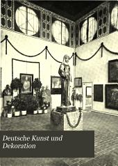 Deutsche Kunst und Dekoration: Band 17