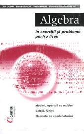 Algebra in exercitii si probleme pentru liceu: Multimi, Operatii cu Multimi. Relatii, Functii, Elemente de Combinatorica