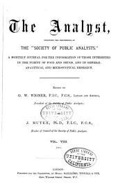 The Analyst: Volume 8