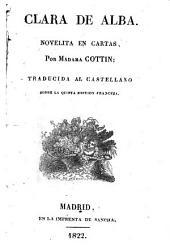 Clara de Alba, novelita en cartas