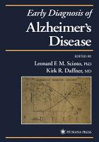 Early Diagnosis of Alzheimer   s Disease PDF
