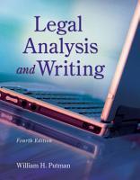 Legal Analysis and Writing PDF