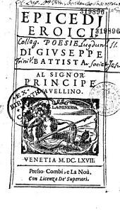 Epicedi eroici, poesie