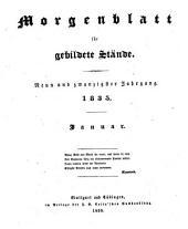 Morgenblatt für gebildete Leser: Band 29