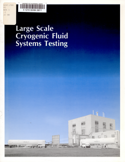 Large Scale Cryogenic Fluid Systems Testing PDF