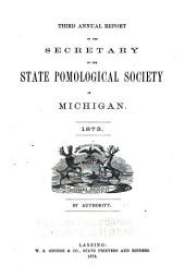 Report of the Michigan State Pomological Society: Volume 3