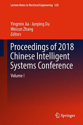 Proceedings of 2018 Chinese Intelligent Systems Conference PDF