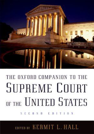 The Oxford Companion to the Supreme Court of the United States PDF