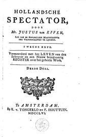 Hollandsche spectator: Volume 1;Volume 3