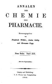 Annalen der Chemie und Pharmacie: Bände 19-20;Bände 95-96