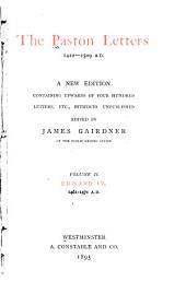 The Paston Letters, 1422-1509 A.D.