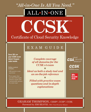 CCSK Certificate of Cloud Security Knowledge All in One Exam Guide PDF