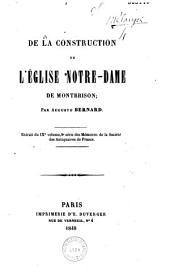 De la construction de l'Eglise Notre-Dame de Montbrison