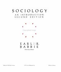 Sociology  an Introduction