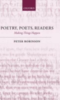 Poetry  Poets  Readers PDF