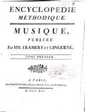 Encyclopédie méthodique: Musique, Volume1,Partie1