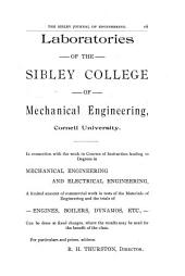 The Sibley Journal of Engineering: Volume 7, Issue 1