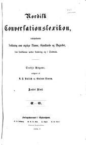 Nordisk conversationslexikon, indeholdende forklaring over vigtige navne, gjenstande og begreber, som forekomme under læsning og i samtale: Bind 2