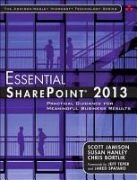 Essential SharePoint   2013 PDF