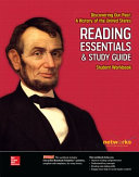 Discovering Our Past  A History of the United States  Reading Essentials and Study Guide  Student Workbook Book