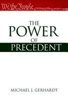 The Power of Precedent PDF