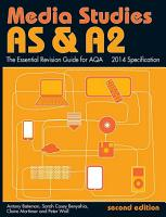 AS   A2 Media Studies  The Essential Revision Guide for AQA PDF