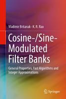 Cosine  Sine Modulated Filter Banks PDF