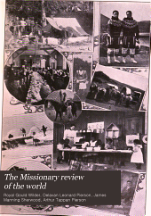 The Missionary Review of the World: Volume 35