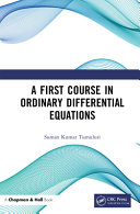 A First Course in Ordinary Differential Equations PDF