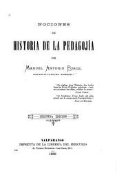 Nociones de historia de la pedagojía
